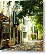 Charleston Streets 2 Metal Print
