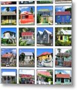 Chattel Houses Of Barbados Metal Print