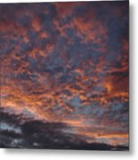 Chemical Sky Metal Print