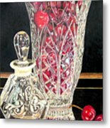 Cherries Jubilee Metal Print