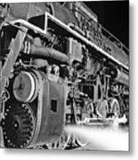 Chesapeake And Ohio Steam Engine Metal Print