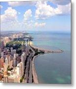 Chicago Lake Metal Print