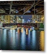 Chicago River Hd Metal Print