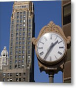 Chicago Time Metal Print