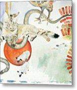 Chickenfoot Serpentine Metal Print
