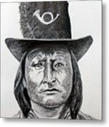 Chief Bird-arapahoe Metal Print