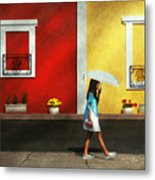 Child - A Bright Sunny Day  Metal Print