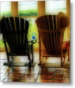 Chillax Metal Print
