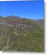 Chimney Mountain Metal Print
