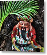 China Boat Gnome Metal Print