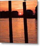 Chincoteague Sunset Metal Print