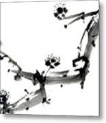 Chinese Brush Ll Metal Print