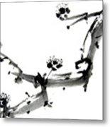 Chinese Brush Ll Metal Print