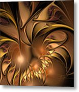 Chocolate Essence Metal Print