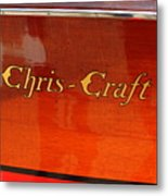 Chris Craft Logo Metal Print by Michelle Calkins