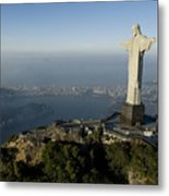 Christ The Redeemer Statue Metal Print by Joel Sartore