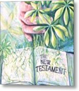 Christian Artist Rooted In The Word Metal Print