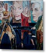 Christine Anderson Concert Fantasy Metal Print