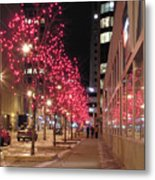 Christmas On Ottawa Street Metal Print by Richard Mitchell