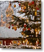 Christmastime At Tivoli Gardens Metal Print