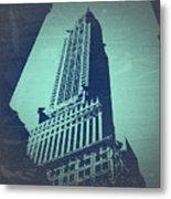 Chrysler Building  Metal Print by Naxart Studio
