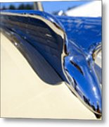 Chrysler New Yorker Deluxe Hood Ornament Metal Print