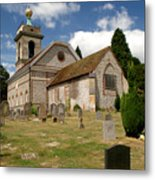 Church Of St. Lawrence West Wycombe 3 Metal Print