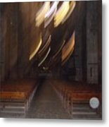 church Spirit Orb Palma de Mallorca Metal Print
