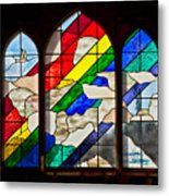 Church Window Metal Print