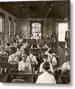 Cigar Factory, 1909 Metal Print
