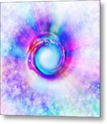 Circle Eye  Metal Print by Setsiri Silapasuwanchai