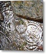 Circles Of Water Metal Print