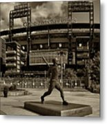 Citizens Park Panoramic Metal Print