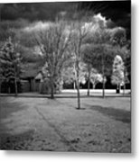City Beach In Infrared Metal Print