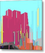 City Color 3 Metal Print