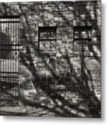'city Jail' Metal Print