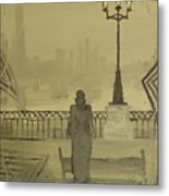 City Of November - Waiting For Thoughts To Go Metal Print