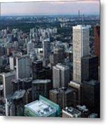City Of Toronto Downtown Metal Print