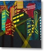 City Scion Metal Print