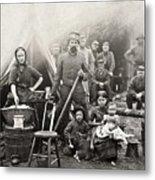 Civil War: Camp Life, 1861 Metal Print
