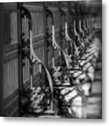 Classic Fence Metal Print