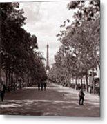 Classic Paris 10 Metal Print