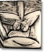 Clay Metal Print