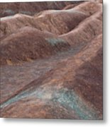 Clayscape Metal Print