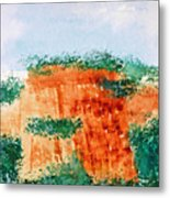 Cliffdwellers Metal Print