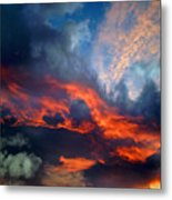 Cloud Abstract 1 Metal Print
