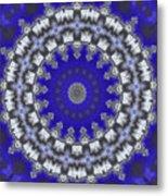 Cloud Kaleidoscope Metal Print