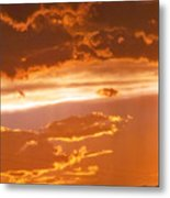 Cloud Light Metal Print