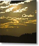 Cloud Shadows Metal Print