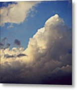 Clouds-3 Metal Print